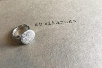 sumikaneko スミカネコ 08R04 Silver シルバーリング 11号