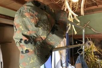 orSlow オアスロウ US.NAVY HAT ハット dot camouflage Mサイズ