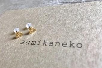 sumikaneko スミカネコ 18BO3K18 yellowgold イエローゴールド ピアス