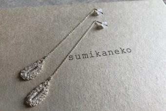sumikaneko スミカネコ 15PO5 silver シルバー ピアス