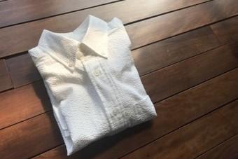 SanFranciscoサンフランシスコ カラーサッカーボタンダウンシャツ ホワイト