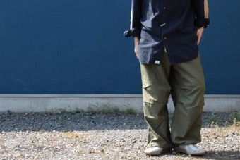 orslow オアスロウ LOOSE FIT ARMY TROUSER 01-5020-76 ワイド