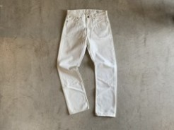 orSlow オアスロウ IVY FIT DENIM 107 white