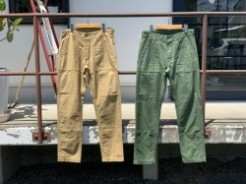 orSlow オアスロウ MEN'S SLIM FIT FATIGUE PANTS 01-5032